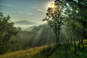 sunrise-mountains