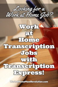 work at home transcription with Transcription Express