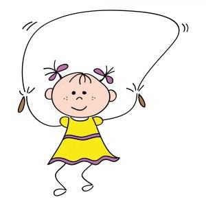 little-yellow-dress-girl-jump-rope-image