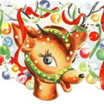 old-reindeer-card-image