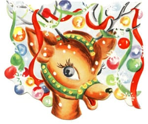 old-reindeer-card-image