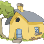 house-yellow-gray-roof-image
