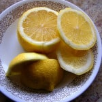 plate-fresh-yellow-lemons-image