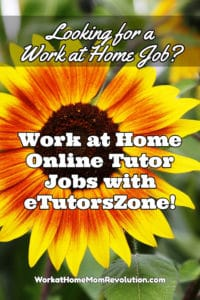 etutorszone work at home jobs