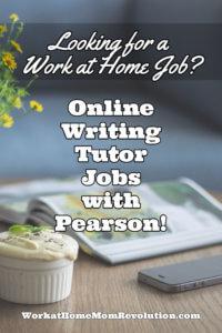 online writing tutor jobs