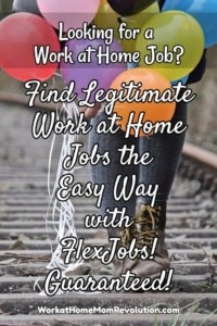 FlexJobs: Find Work at Home Jobs the Easy Way!