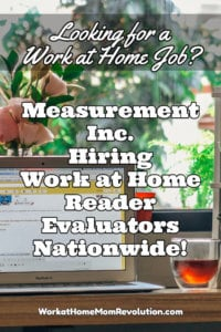Work at Home Jobs with Measurement Inc.