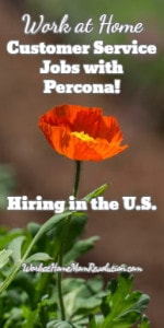Percona Hiring Work at Home Customer Service in the U.S.