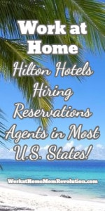 Work at Home Reservations Jobs with Hilton Hotels! Hiring in U.S.