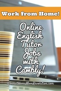 Work at Home Online English Tutor Jobs with Cambly Inc.