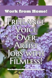 Filmless Hiring Freelance Voice Over Artists!