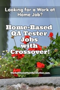 Home-Based QA Jobs with Crossover!