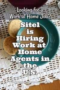 Sitel Hiring: Work at Home Agent Jobs in U.S.