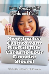 Earn Gift Cards and Cash with Swagbucks!