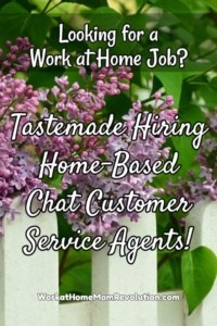 Home-Based Chat Customer Service with Tastemade