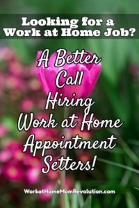 Work at Home: A Better Call Phone Jobs