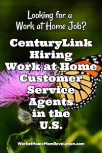 Work at Home: CenturyLink Customer Service Jobs