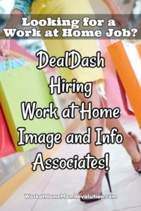 DealDash Work at Home Image and Info Associate Jobs