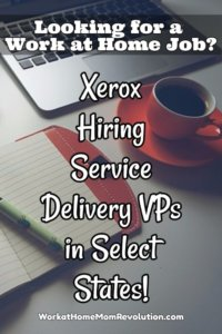 Home-Based Service Delivery VP Jobs with Xerox