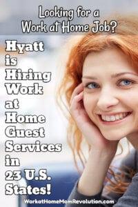 Work at Home: Hyatt Hiring Guest Services