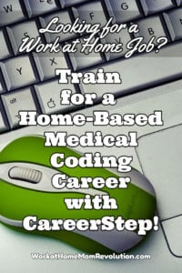 Work at Home Medical Coding Training with CareerStep!