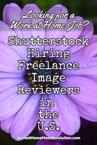 Work at Home: Shutterstock Image Review Jobs