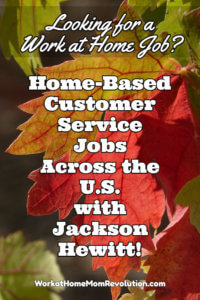 Home-Based Customer Service Jobs with Jackson Hewitt