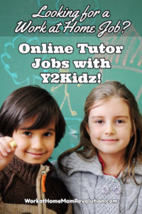 Work at Home: Online Tutoring Jobs with Y2Kidz