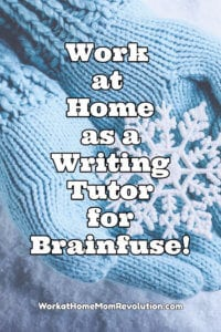 Home-Based Online Writing Tutor Jobs with Brainfuse