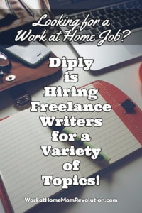 Freelance Writing Jobs with Diply