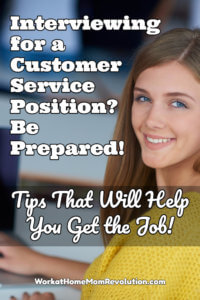 Tips on Inteviewing for a Customer Service Position