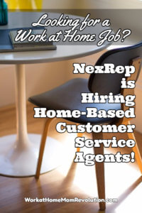 Home-Based Customer Service Jobs with NexRep