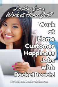 Home-Based Customer Happiness Jobs with RocketReach