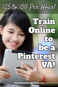 rain Online to Be a Pinterest VA