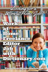 work at home editor