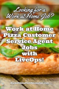 work at home pizza customer service