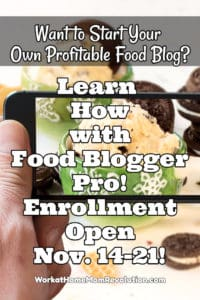 food blogger pro is open