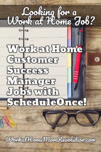 work at home scheduleonce