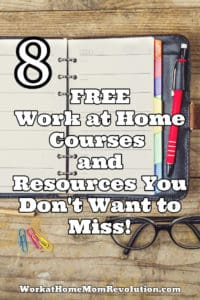 8 free work at home courses and resources