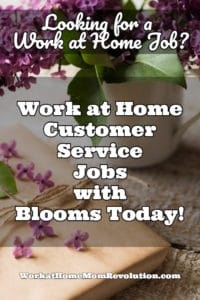 home-based jobs with Blooms Today
