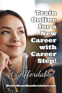 career step online training new career