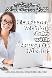 freelance writing jobs with Tempesta Media