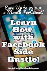 the facebook side hustle