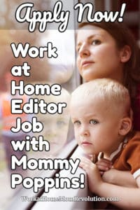 work at home editor job with Mommy Poppins