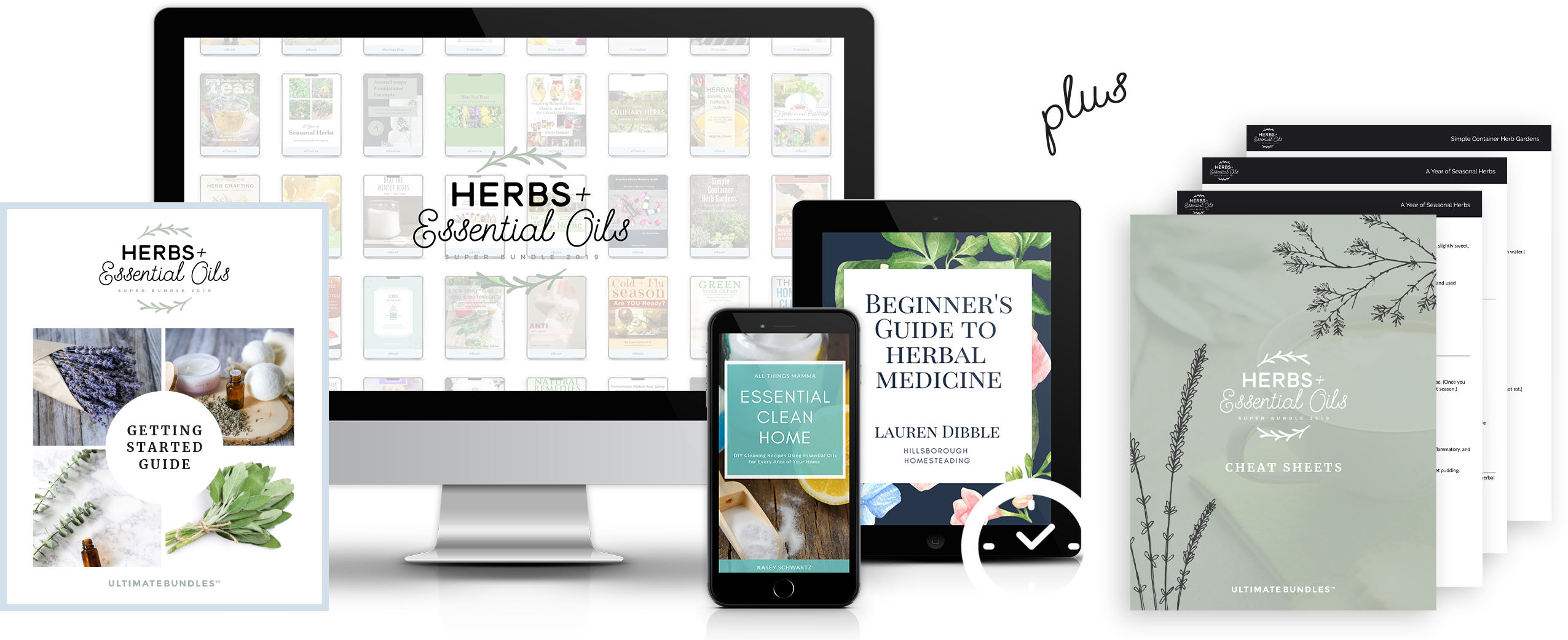 herbs and essential oils 2019