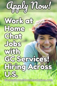 Work at Home Chat Customer Service Jobs with GC Services