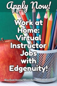 Home-Based Virtual Instructor Jobs with Edgenuity