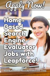 Home-Based Search Engine Evaluator Jobs with Leapforce