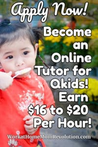qkids work at home online tutoring jobs