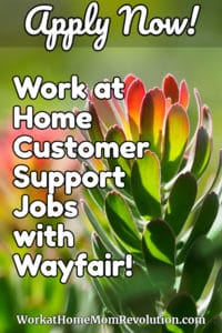 Home-Based Customer Support Jobs with Wayfair